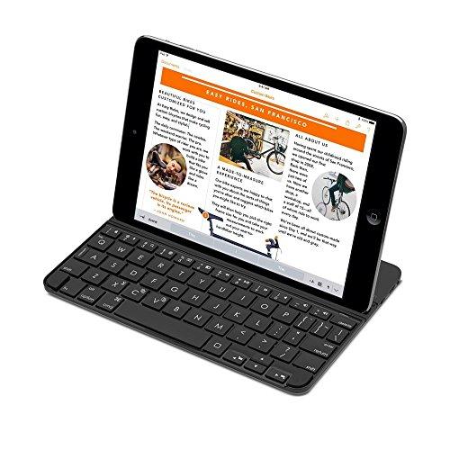 Logitech Ultrathin Magnetic Clip-On Keyboard Cover for iPad mini 2, 3 (Certified Refurbished) (Logitech Mini Bluetooth Keyboard)
