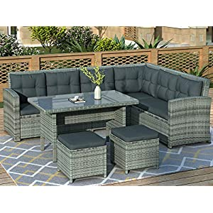51er4YIwEUL._SS300_ Wicker Dining Tables & Wicker Patio Dining Sets