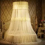 Dome Hanging Mosquito Net/Fashion Double,Home Mosquito Net/Palace Princess Wind,Hanging Mosquito Nets-F C