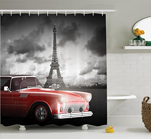 Compare Price To Paris Theme Shower Curtain