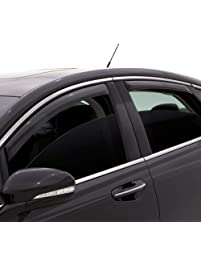 Auto Vent Shade 194638 in-Channel Vent Visor Side Window Deflector, 4-Piece Set for 2016-2018 Toyota Prius