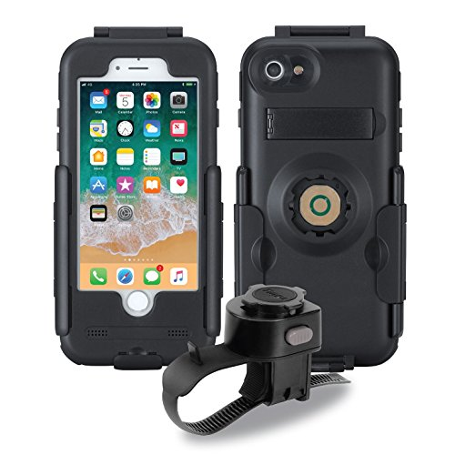 Tigra BikeConsole iPhone 7/8 Waterproof Shockproof Bike Mount (Engineering Motorcycle Mount)