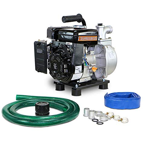 (RanchEx Dirty Hand Tools 101099 Clean Water Pump - Light Duty with Hose Kit, 1.5
