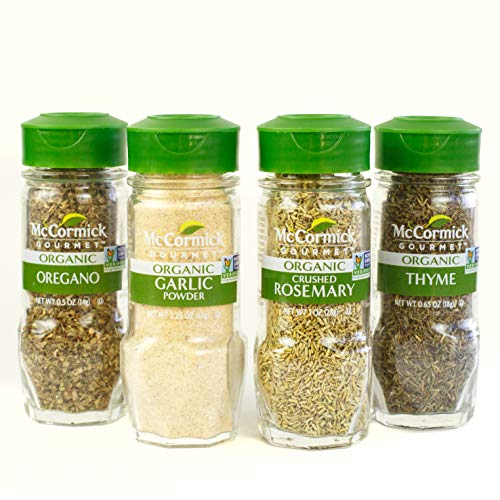 McCormick Gourmet spices and herbs