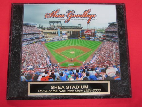 Shea Stadium Final Game - Shea Stadium 2008 FINAL GAME Mets Collector Plaque w/8x10 Photo!