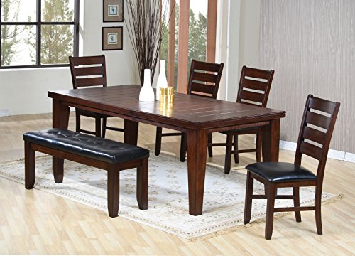 acme 4620 Birch Veneer Dining Table, Country Cherry ()