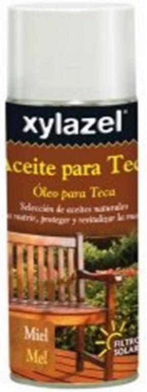 Xylazel - Spray aceite para teca teca 400ml: Amazon.es: Bricolaje y herramientas