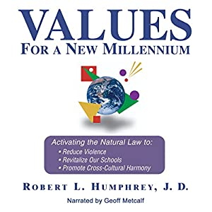 Values for a New Millennium Audiobook