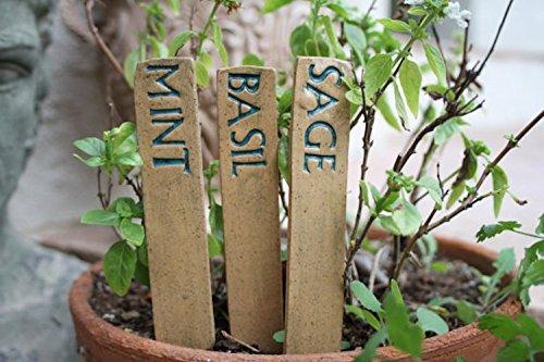 handmade ceramic garden signs (Dads Garden Sign)