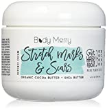 Best Scar Treatment Creams - Body Merry Stretch Marks & Scars Defense Cream Review