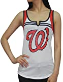 WAS NATIONALS Womens Athletic Tank Top (Vintage Look)