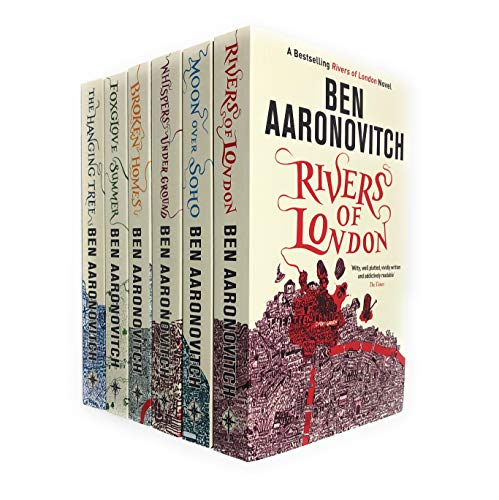 A Rivers of London Series Collection 6 Books Set by Ben Aaronovitch (River London)