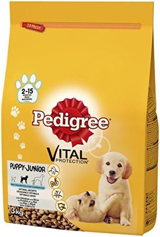Pedigree Dry Puppy with Chicken & Rice 3 x 3kg 9000g – Dogs Corner
