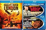 Drama Adventure War Movie Collection The Dirty Dozen & Next Mission / The Green Berets + Eagles over London Triple Feature