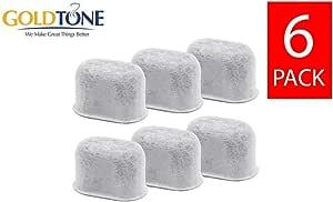 Amazon.com: Goldtone (TM) marca Cartuchos de carbón filtro ...