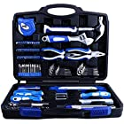 Vastar Piece Home Repair Tool Kit, General Household Tool Kit for Home Maintenance with Plastic Toolbox Storage Case 102