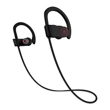 Auriculares Bluetooth 4.1, JIAMA Los mejores auriculares inalámbricos deportivos U8 In Ear con Micrófono Cascos