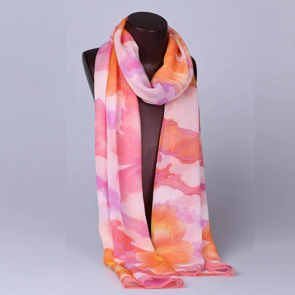 Beige Paioup Ladies Silk shawl silk long scarf summer autumn decoration silk scarf silk gift scarf
