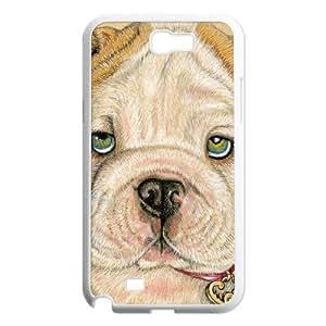 case Of Cute Dog Customized Bumper Plastic Hard Case For Samsung Galaxy Note 2 N7100
