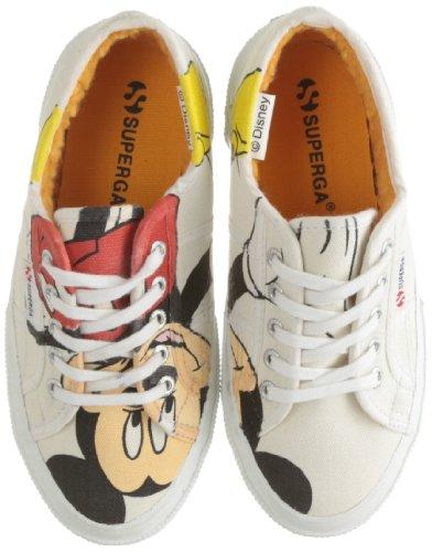 Superga 2750- Disney Topolino COBJ S003NB0D - Zapatillas para niños Blanco