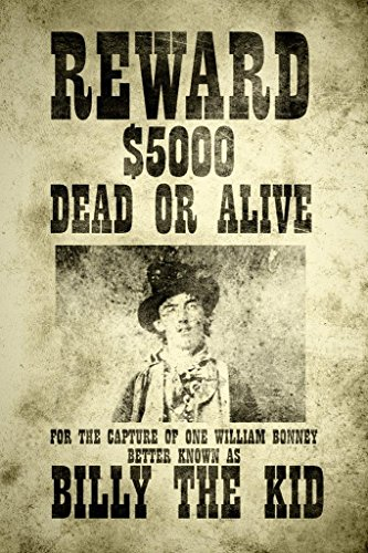 Billy The Kid Wanted Vintage Style Art Print Poster 24x36 inch Billy The Kid Wanted Poster