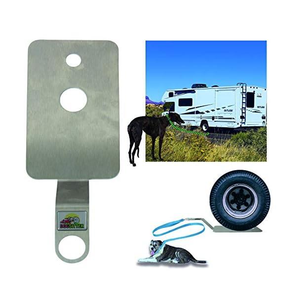 51er9r938uL DogSitter - mobiler Ankerpunkt für Ihren Hund (Camping Wohnmobil Wohnwagen) (SET1)
