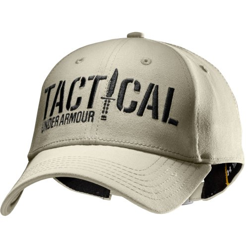 559aba02140 Under Armour Men s UA Tactical Adjustable Cap One Size Fits All Desert Sand  - Buy Online in UAE.