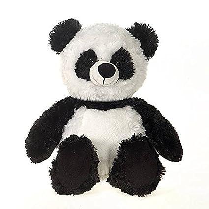 Amazon Com Fiesta Toys Black And White Panda Bear Plush Stuffed