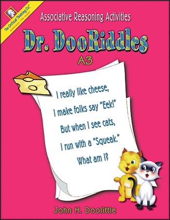 Dr. DooRiddles A3 (Grades 2-3) by The Critical Thinking