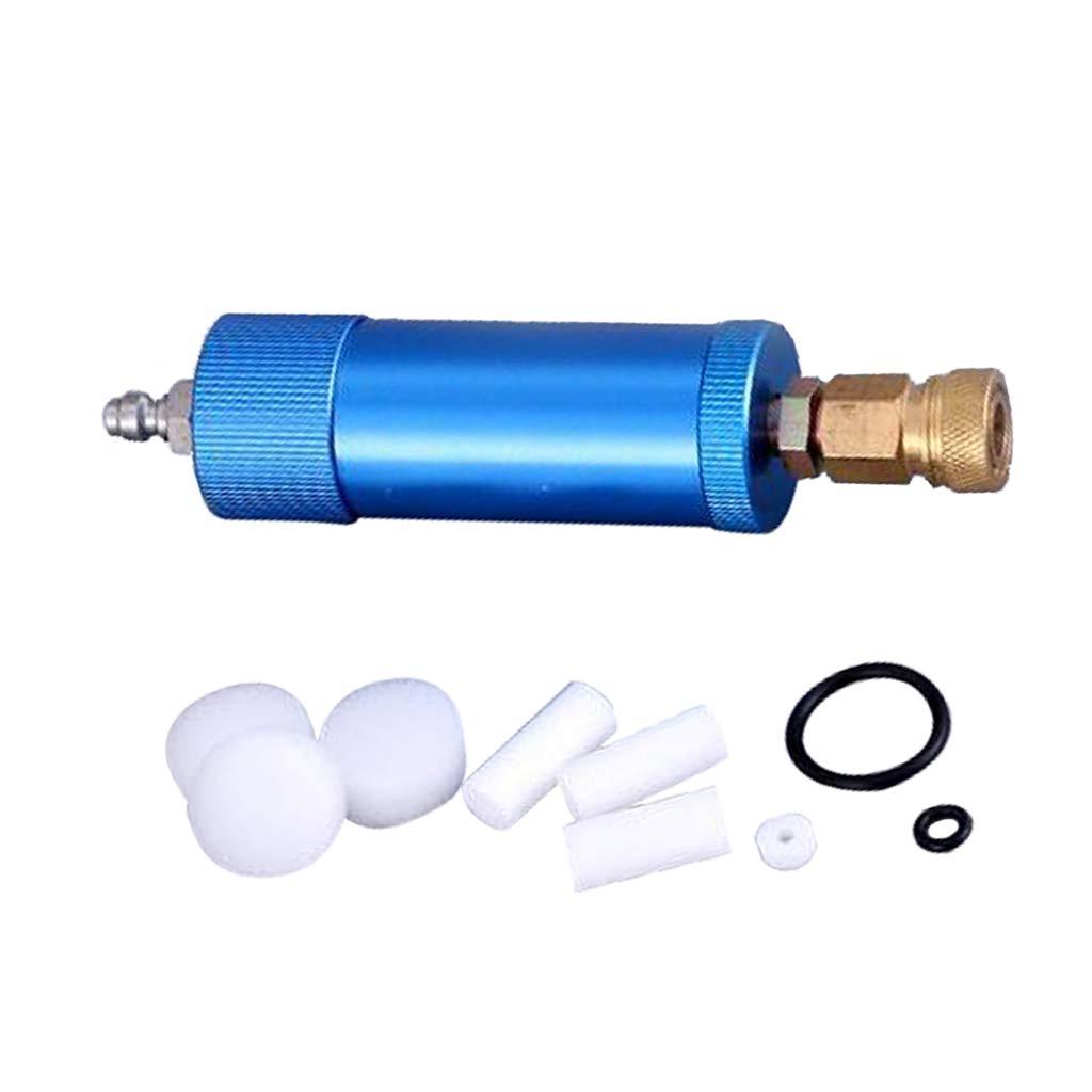 FITYLE S/éparateur Deau Dhuile De Compresseur De Filtre /à Air De Pompe /à Main 91 X 32 X 5,5 Cm Dor/é