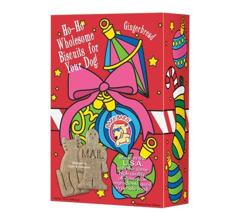 Bark Bars Christmas Ornament Box Gingerbread Pet Treat, 12-Ounce ()