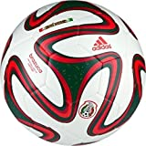 New Ball ADIDAS FOOTBALL BRAZUCA FIFA WORLD CUP MEXICO CAPITANO SOCCER BALL SIZE 5 NIB