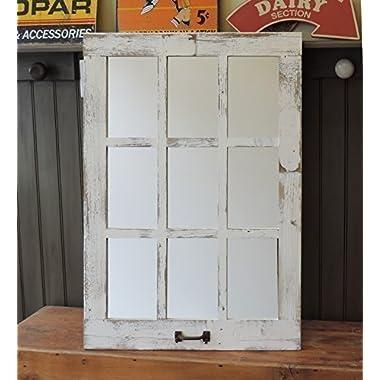 Barn Window Pane Mirror Homesteader Style--23.5  X 33.25