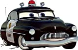8 Inch Sheriff Radiator Springs Walt Disney Pixar Cars 2 Movie Removable Wall Decal Sticker Art Home Racing Decor Sherrif Sherriff