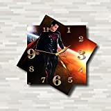 Cheap SUPERMAN WALL CLOCK Quiet Sweep Movement Wall Clock Decorative Battery Operated 11,8 Inch – for devoted fans of DC comics.