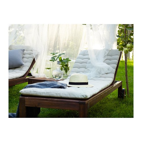 Amazon.com: IKEA HALLO Chaise Pad Beige 202.616.90: Home ...