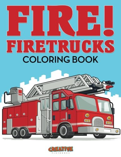 fire truck coloring book - 2