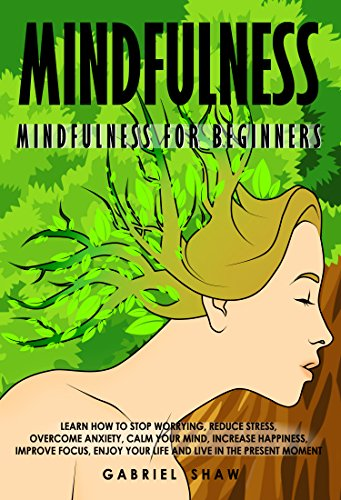 Mindfulness beginners worrying overcome happiness ebook