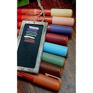Dexon Power Chalkboard Markers - Set of 8 Colors Earth Tones 90
