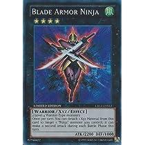Yu-Gi-Oh!! - Blade Armor Ninja (CBLZ-ENSE2) - Cosmo Blazer: Special Edition - Limited Edition - Super Rare