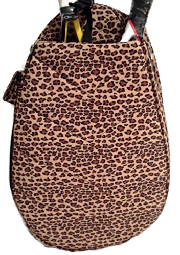 Jetpac Small Sling - Jetpac Jet (Life is Tennis) Women's Tennis Racket Sling Backpack Bag - Giraffe Camo Animal