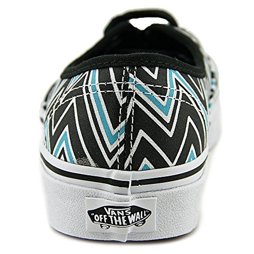 Vans Authentic Blue Chevron Black Scuba W41OwqP
