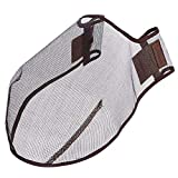 LeMieux Comfort Shield Filter Nose Net - Brown, Medium