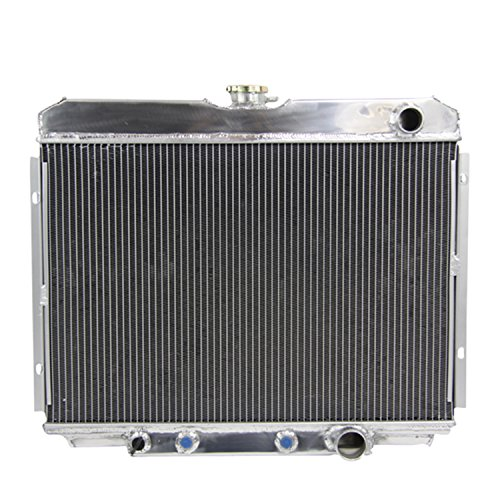 ALLOYWORKS 3 Row Aluminum Radiator for FORD MUSTANG XR-7 V8 1967-1970