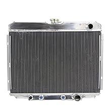 ALLOYWORKS 3 Row Aluminum Radiator for FORD MUSTANG XR-7 V8 1967-1970