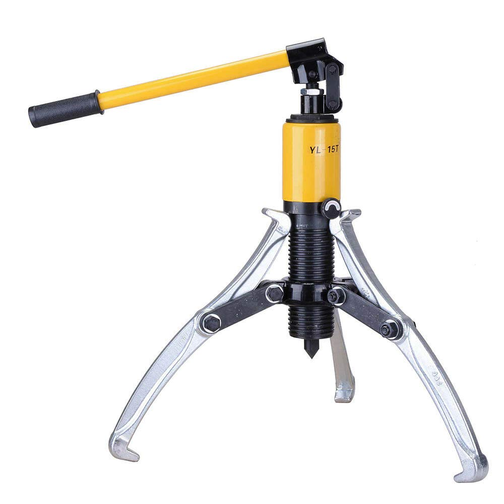 3in1 Pumps Oil Tube Drawing Machine Hydraulic Gear Puller Pulling w/Case 15 Ton