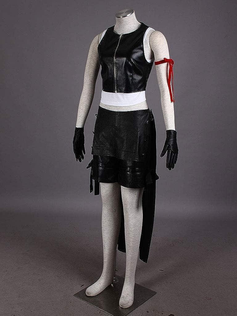 FINAL FANTASY FF 7 AC VII Tifa Lockhart Farron Cosplay costume Kostüm full set 2