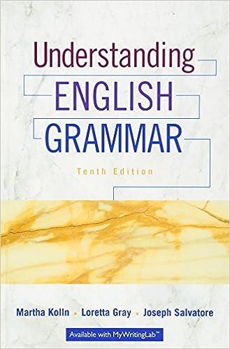 Amazon com: Understanding English Grammar (10th Edition