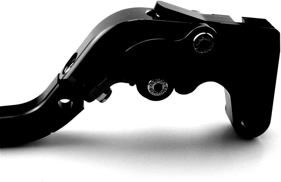 CNC Motorcycle Foldable Extendable Clutch Brake Lever For Yamaha TDM 900 2002 2003 2004 All Black