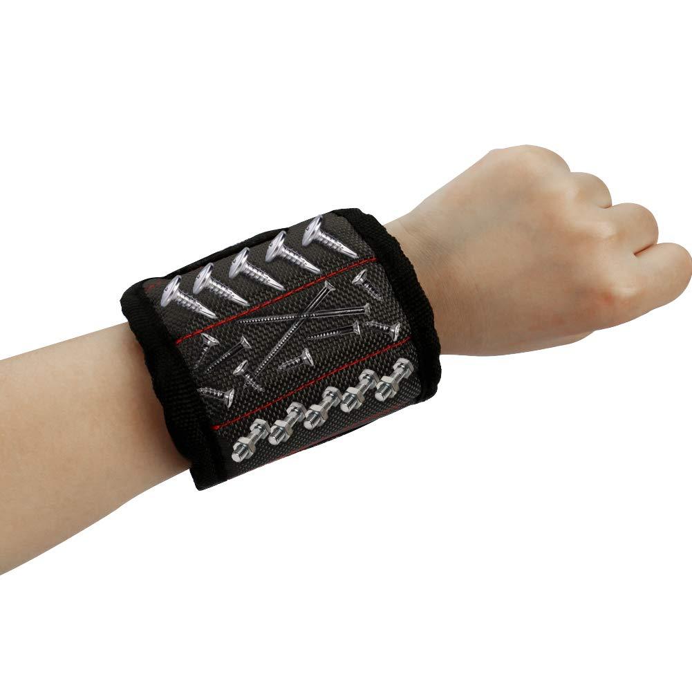 Bosiwee Magnetic Tool Belt for Home Improvement DIY Handymen Hairdresser Father//Dad Women Boyfriend Strong Magnetic Wristband Husband